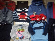 NEXT HUGO BOSS ZARA ADIDAS BUNDLE BABY BOY CLOTHES 9/12 MTHS AUTUMN/WINTER (8