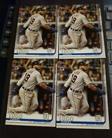 Dawel Lugo Lot Of 4 Cards Detroit Tigers 2019 Topps Series 2 #660 RC Rookie Card