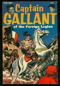 CAPTAIN GALLANT OF THE FOREIGN LEGION #1  (HEINZ)  5.5/6.0  (GLOSSY)