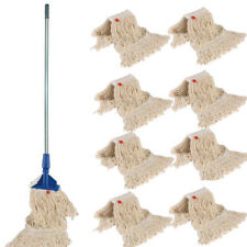 More details for 14 oz complete kentucky mop + 9 mop heads free p&p