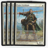 TCG 58 MtG Magic the Gathering Hada Freeblade Extended Art Promo Play Set (4)