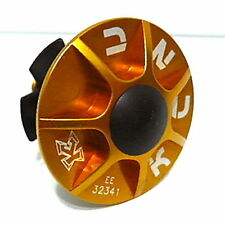 "gobike88 KCNC alloy headset kit (cap/bolt/star nut/rubber top) 1-1/8"", gold, 706"