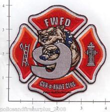 Indiana - Fort Wayne Station 9 IN Fire Dept Patch v2 - Gun N Knife Club