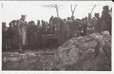 FOTO SU CARTOLINA MILITARI E GERARCHI FASCISTI IN ESERCITAZIONI 1-353
