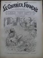 LE COURRIER FRANCAIS 1901 N 32 DESSIN DE A.WILLETTE