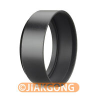 55mm Standard Metal Black Lens Hood for Canon Nikon