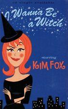 "KIM FOX ""I WANNA BE A WITCH"" CASSETTE SINGLE 1997 dreamworks"