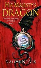 *VERY GOOD CONDITION* TEMERAIRE, BOOK 1 HIS MAJESTY'S DRAGON BY NAOMI NOVIK