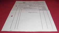rechnung alt antik priv hof apotheke sigmaringen dr nat karl richter 1942 papier