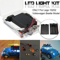 LED Light Lighting Kit For Lego 10252 Volkswagen Model Brick Toy 21003 z q ˜. ❀