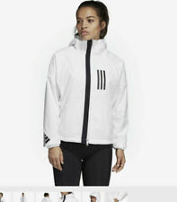 ADIDAS LADIES WHITE WND JACKET XS BNWT