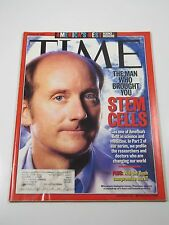 Time Magazine- The Man Who Brought You Stem Cells: James Thompson-August 20,2001