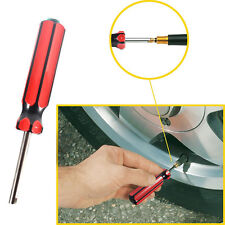 1pc Car Motorbike Truck Tire Screwdriver Repair Install Tool Valve Stem Remover