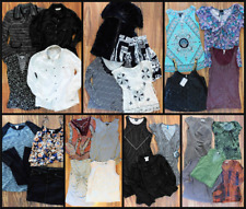 Women's Mixed Clothing Lot Tops Sweater Blouse Jacket dresses 28 PC. Size Small