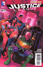 JUSTICE LEAGUE #34 - New 52 - VARIANT Cover 1:25