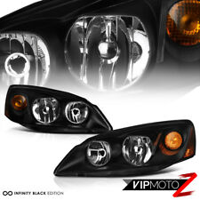 2005-2010 Pontiac G6 GT GTP GXP Crystal Black New Headlights Assembly LEFT+RIGHT