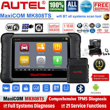 Autel MK808TS Scanner TPMS Programming Tool Car OBD2 Auto Diagnostic All Systems