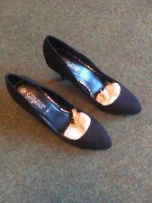 New Look Ladies High Heel Shoe In Black  Suede Effect Size 7