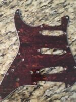 New Tortoise Shell Lefty Pick Guard For Fender Stratocaster Guitar 3 SINGLE COIL