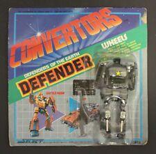 1984 Select Convertors DEFENDER WHEELS (Dorvack Calibur Transformers Roadbuster)