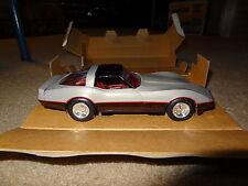 1982 Chevrolet Corvette promo model. #6996EO Silver/Dark Claret. 82 Chevy Vette
