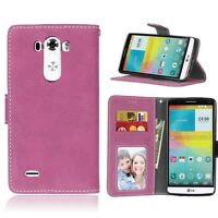 Rose Premium Matte Wallet Flip Leather Case Cover For Various Phones