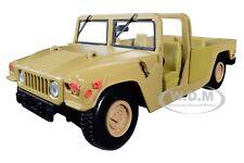 HUMVEE MILITARY BASE PLATFORM BROWN 1/24 DIECAST MODEL CAR BY MOTORMAX 73296