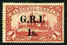 Marshall-I. Brit. Besetz. Mi 10 I *  MH   3,5-4 mm    gepr.   2000,-