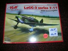 "ICM #48093 "" LAGG-3 SERIES 7-11  RUSSIAN "" 1/48 LIST $ 32.95 LOT # 13598"