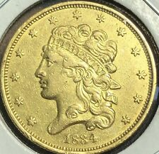 1834 PCGS $5 Gold Classic Head Half Eagle Plain 4 Pre-33 US Coin