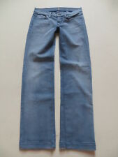 "7 For All Mankind Marlene Jeans Hose W 30 /L 34, ""low rise ginger"" MADE IN USA !"