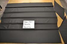 1966 66 1967 67 CHEVELLE & SS 2 DOOR HARDTOP BLACK TIER GRAIN HEADLINER USA MADE