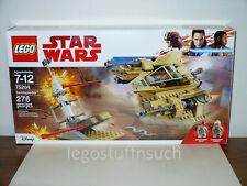 NEW LEGO Star Wars™ SEALED #75204 rebel Sandspeeder female pilot figure fighter