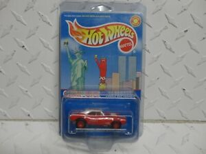 Hot Wheels Otter Pops Red '67 Camaro w/Real Riders