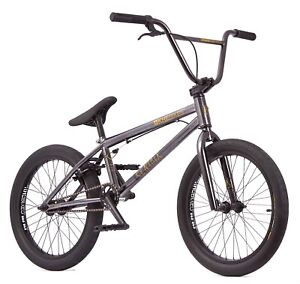 KHE BMX Bike Centrix Black Chrome 20 Inches With Affix Rotor Only 10,5kg