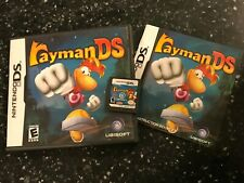 NINTENDO DS DSL DSi GAME RAYMAN DS +BOX & INSTRUCTIONS COMPLETE US USA CARTRIDGE