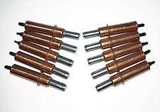 "Cleco Fastener 1/8"" Temporary Fastener Spring loaded Wedgelock Kwikloc 10 pieces"
