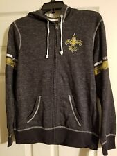 New Orleans Saints  women's medium jacket NWT with hood by Majestic fan fashion