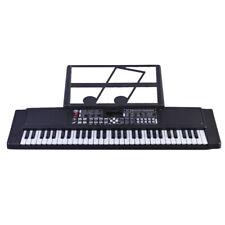 61 Key Music Electronic Keyboard Electric Digital Piano Organ With Mic & Adapter