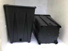VASI PLASTICA QUADRATI cm 13 - 13x13x18 FORI LATERALI - GIARDINO VIVAIO * 10pz