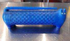 More details for limited edition govinder lola longbottom sculpture - blue cat; 454/500