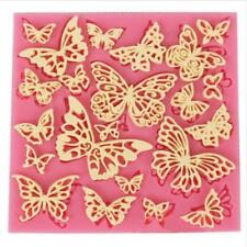 New Flower Silicone Lace Mat Cupcake Fondant Molds Gumpaste Chocolate Mould SH