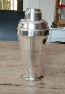 Shaker en métal argenté poinçon Saint Médard