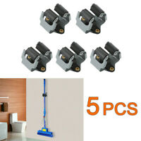 5/10pcs Hook Mop Broom Holder Wall Mounted Clip Handle Hanger Storage Rack asd