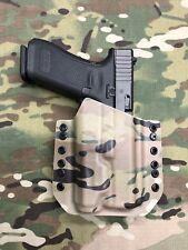 Multicam Kydex Holster for Glock 17 GEN5 Inforce APL gen3 light only