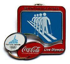 Pin Spilla Olimpiadi Torino 2006 Coca Cola – 50 Km Amicizia Di Fondo