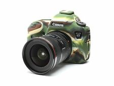 Camera silicone cover for Canon EOS 6D  Camouflage +  LCD Screen Protectors.