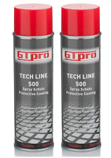 Car Body Spray Schutz 500 Black Underseal Chassis Coating GTPRO 500ml x 2 CANS