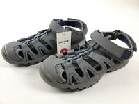 Cat & Jack Boys' Juno Hiking Sandals Navy/Gray - Size 3