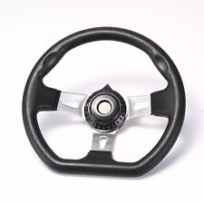 "10.6"" Steering Wheel w/ Cap for Go Kart Asw Carter Hammerhead Trailmaster Parts"